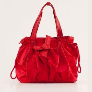Rare Lululemon Om Tote Yoga Bag Currant Red